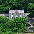 Old Quarry Hospital - Llanberis by Trevor Kersley