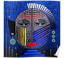 Tribal Whimsy 12 - Poster