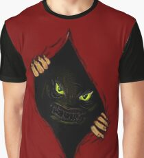 Scary Monster Inside Amazing 3D Illusion Graphic T-Shirt