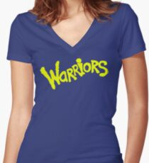 GS WARRIORS Women's Fitted V-Neck T-Shirt