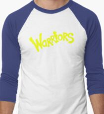 GS WARRIORS Men's Baseball ¾ T-Shirt