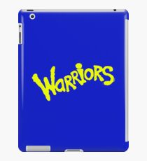 GS WARRIORS iPad Case/Skin