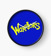 GS WARRIORS Clock