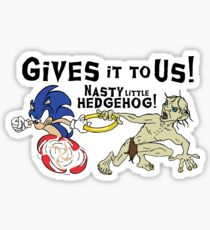 Nasty Hedgehog!!! Sticker