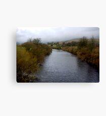 River Wharf - Yorkshire Dales Canvas Print