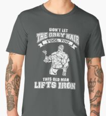 This Old Man Lifts Iron Men's Premium T-Shirt