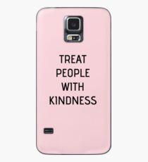 Harry Styles - Treat People With Kindness (all pink) Hülle & Klebefolie für Samsung Galaxy