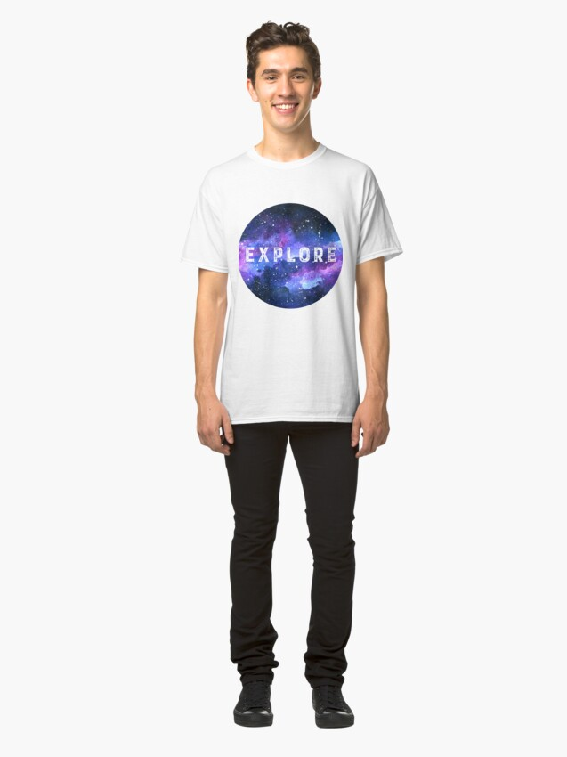 Alternate view of Galaxy Classic T-Shirt