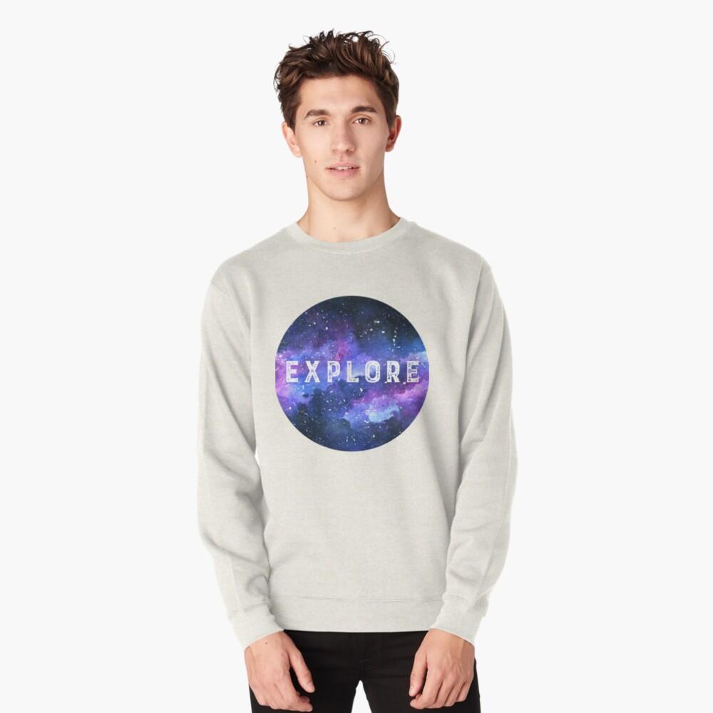 Galaxy Pullover Sweatshirt