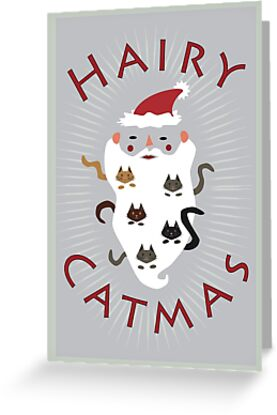 Hairy Catmas by Theokotos