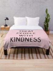 Harry Styles - Treat People With Kindness (all pink) Fleecedecke