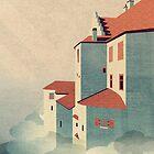 Castle in the Sky by schwebewesen