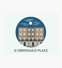 12 Grimmauld Place Photographic Print
