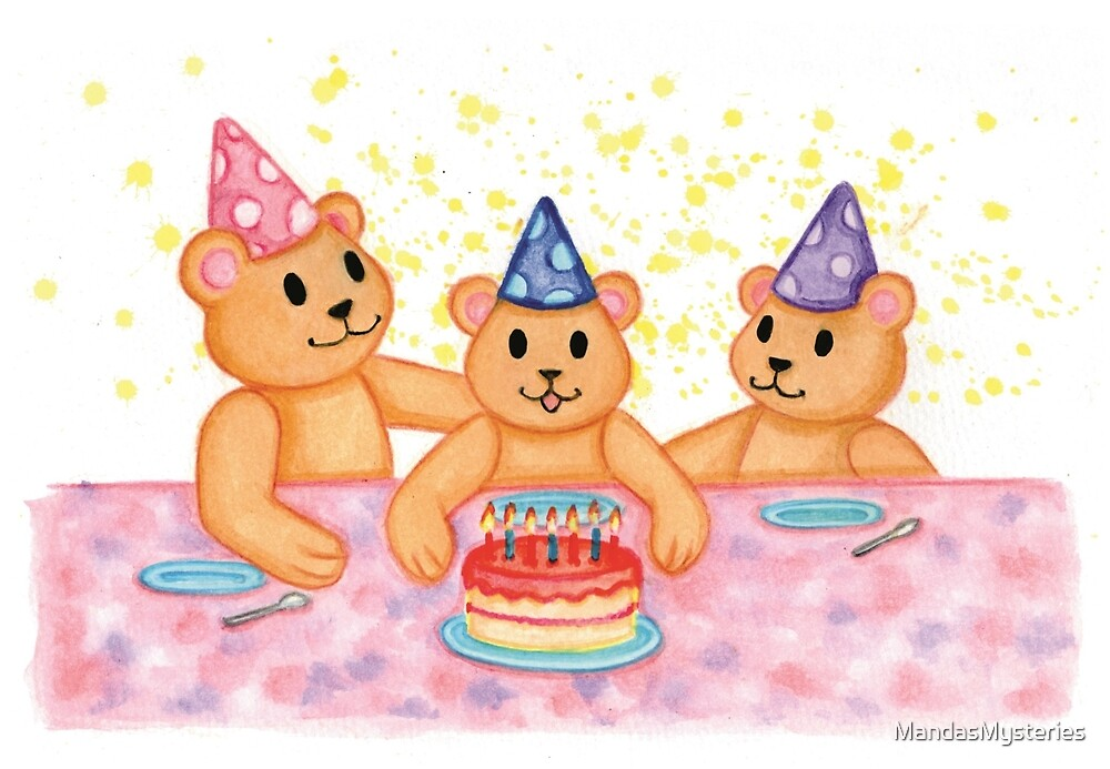 Party for Teddy by MandasMysteries