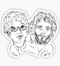 Bret Jermaine Flight of the Conchords Sticker