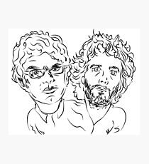 Bret Jermaine Flight of the Conchords Photographic Print