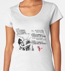 Everything's Coming Up Roses (Night Terrors of 1927) Women's Premium T-Shirt