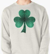 Beautiful Emerald Green glitter sparkles Pullover Sweatshirt