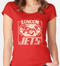 Red Dwarf - London Jets Women's Fitted Scoop T-Shirt