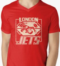 Red Dwarf - London Jets Men's V-Neck T-Shirt