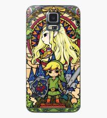 Funda/vinilo para Samsung Galaxy Zelda y enlace
