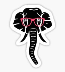 Hip Elephant Sticker