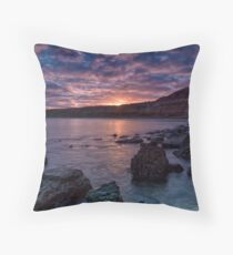 Maslin Beach Sunrise Throw Pillow