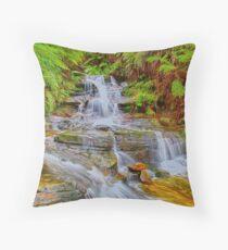 Upper Leura Cascades Throw Pillow