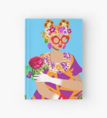 May Flowers Hardcover Journal