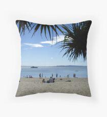 Beach Stretch Throw Pillow