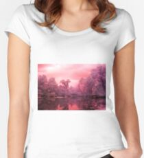 Reflection Women's Fitted Scoop T-Shirt