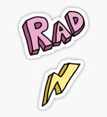 Rad  Sticker
