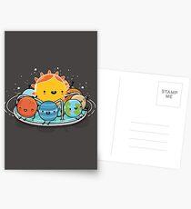 Around the sun Greeting Card