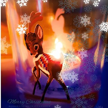 Reindeer christmas by themonastery