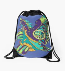 Eagle, from the AlphaPod collection Drawstring Bag