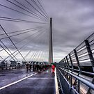 The North Tower of the Queensferry Crossing by Tom Gomez