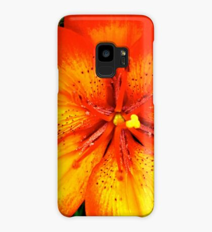 Orange Lily - all products Case/Skin for Samsung Galaxy