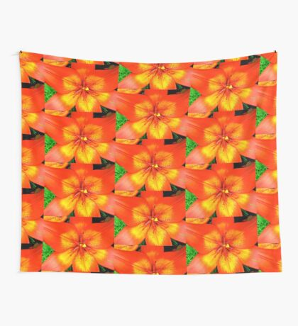 Orange Lily - all products Wall Tapestry
