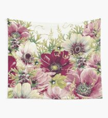 Vintage Garden 32A Wall Tapestry