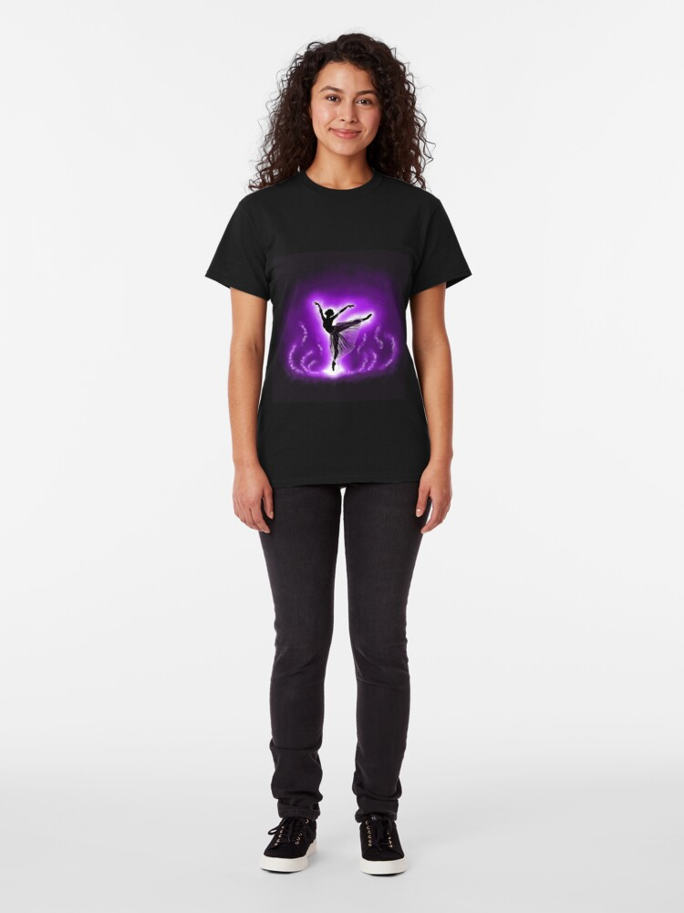 Alternate view of Silhouette Dancer Classic T-Shirt