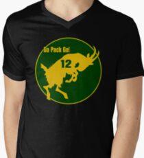 Aaron Rodgers Goat Go Pack Go (transparent) T-Shirt