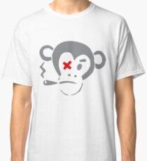 Smoking Monkey - X Classic T-Shirt
