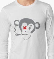 Smoking Monkey - X T-Shirt