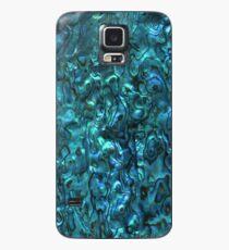 Abalone Shell   Paua Shell   Cyan Blue Tint Case/Skin for Samsung Galaxy