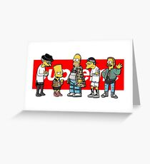 Supreme Simpsons Greeting Card