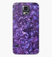 Abalone Shell | Paua Shell | Violet Tint Case/Skin for Samsung Galaxy