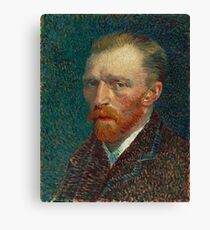 Vincent van Gogh - Self-Portrait Canvas Print