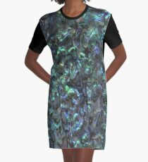 Abalone Shell | Paua Shell | Natural Graphic T-Shirt Dress