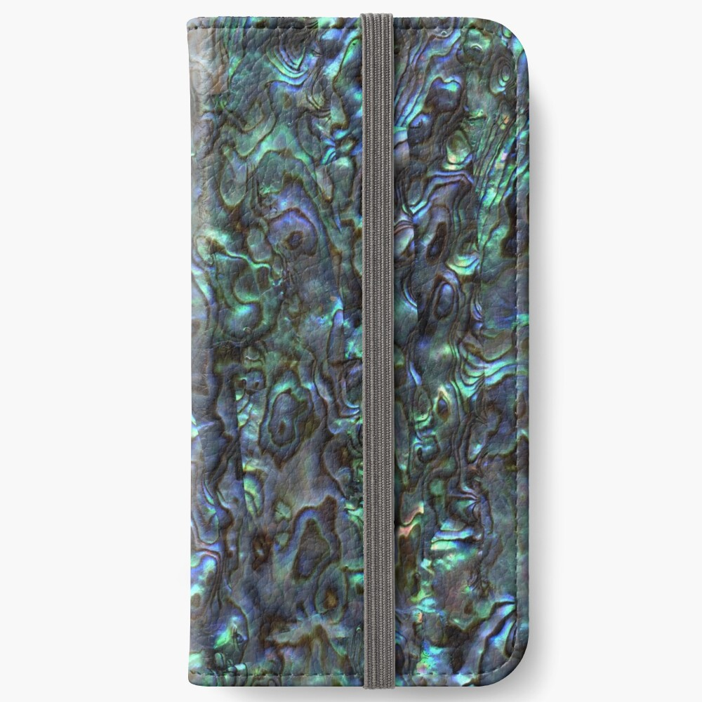Abalone Shell | Paua Shell | Seashell Patterns | Sea Shells | Natural |  iPhone Wallet