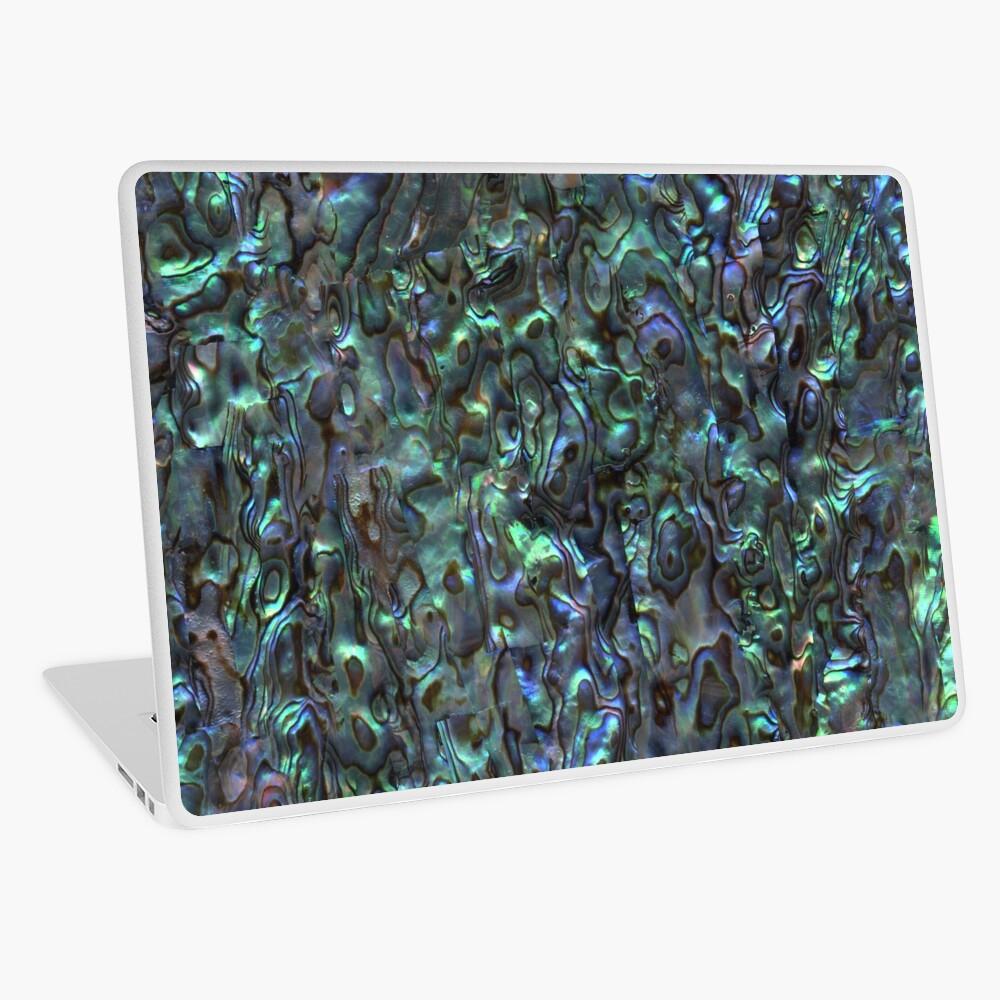 Abalone Shell | Paua Shell | Seashell Patterns | Sea Shells | Natural |  Laptop Skin